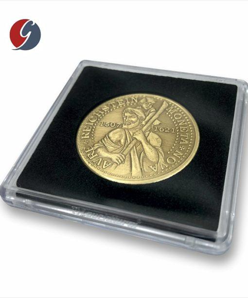 Kapsel numizmatyczny QUADRUM